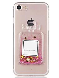 Pour Liquide Coque Coque Arrière Coque Femme Sexy Flexible TPU pour Apple iPhone 7 Plus / iPhone 7 / iPhone 6s Plus/6 Plus / iPhone 6s/6