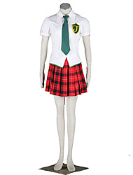 Neon Genesis Evangelion Anime Cosplay Costumes Shirt / Skirt / Tie / Stockings / Headband  Kid