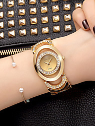 Women's Dress Watch Skeleton Watch Fashion Watch Wrist watch Bracelet Watch Quartz / Alloy BandVintage Sparkle Charm Bangle Casual