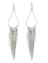 New Design Gold Silver Color Long Chain Earrings