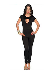 Festival/Holiday Halloween Costumes Black Solid Top / Pants Halloween / Christmas / Carnival Female