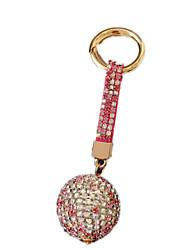 Porte-clés Loisirs Porte-clés / Diamant / Lueur Circulaire Métal Rose