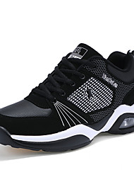 Men's Athletic Shoes Fall / Winter Comfort PU Athletic / Casual Flat Heel Lace-up Blue / Red / White Basketball
