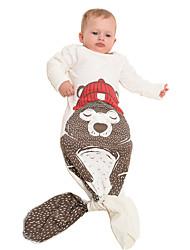 kigurumi Pyjamas Shark Collant/Combinaison / Queue Fête / Célébration Pyjamas Animale Halloween Rouge / Marron / Noir Motif Animal Coton