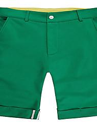 Trenduality® Hommes Shorts Pantalon Vert-45059