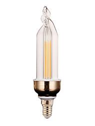 4W E14 Luz de Decoração 2 COB 300-400 lm Branco Quente / Branco Frio Decorativa V 1 pç