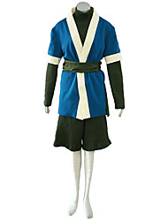 Naruto Anime Cosplay Costumes Top/Kimono Coat/ Pants/Belt male