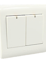 painel interruptor de parede painel de comando dois dual-control