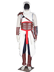 Assassin Anime Cosplay Costumes Hat / Bag / Cloak / Girdle/ Shirt / Sleeves / Pants / Leg Warmers / More Accessories Male