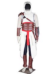 Inspirado por Assassino Fantasias Anime Fantasias de Cosplay Ternos de Cosplay Cor ÚnicaCamisa Calças Mangas Luvas Corpete Aquecedores de