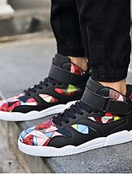 Homme-Décontracté-Noir / Jaune / Rouge / BlancOthers-Sneakers-Tissu