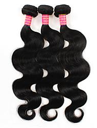 Lidské vlasy Vazby Brazilské vlasy Vlnité 6 měsíců 3 kusy Vazby na vlasy