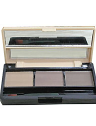 Eyebrow Powder Dry Long Lasting / Natural Eyes 1 3