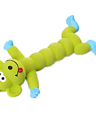 Игрушка для собак Игрушки для животных Игрушки с писком Скрип Красный Зеленый Оранжевый Силикон