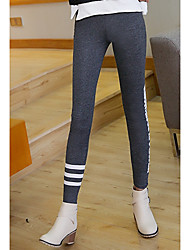Sign new winter stretch cotton casual pants Korean students Slim thin outer wear leggings women