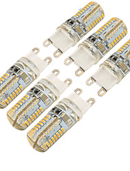 3W G9 Luces LED de Doble Pin T 64 SMD 3014 300 lm Blanco Cálido Blanco Fresco Decorativa AC 100-240 V 6 piezas