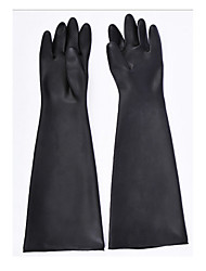 Thickening 60cm Rubber Anti - Chemical Gloves Latex Gloves