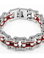 Kalen New Fashion Heavy Bike Chain Bracelets 316 Stainless Steel Bicycle Chain Chunky Bracelets For Men Cool Jewelry Gifts