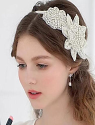 Hot Hot Style Luxury Diamond Composite Bride Hair Ribbon Hair Tiara Headband Dress Accessories