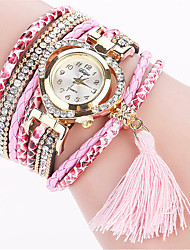 Xu™ Women's Fashion Watch Wrist watch Quartz PU Band Vintage Casual Black White Blue Red Brown Green Pink Ivory