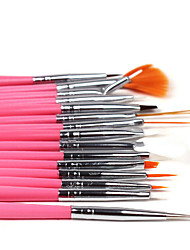 1Set 15PCS Nail Art Design DAY Painting Drawing Pen Brush(3 Color Choose)