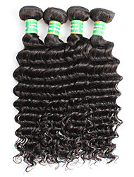 Brazilian Remy Hair Remy Weaves Deep Wave Remy Human Hair Weaves