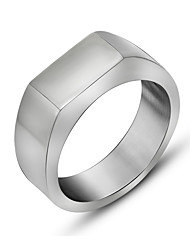 Ring Titanium Steel Punk Silver Jewelry Daily Casual 1pc