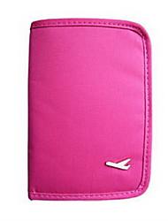 Viagem Bolsa de Viagem / Porta-Documento / Capa para Passaporte / Porta Documentos Organizadores para Viagem Selado Tecido
