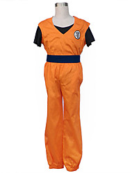 Dragon Ball Anime Cosplay Costumes Top / T-shirt/ Pants / Pants / Belt  Kid