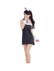 Cosplay Costumes Party Costume Career Costumes Bunny Girls Festival/Holiday Halloween Costumes Red Pink SolidSkirt More Accessories
