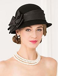 Women's Wool Fabric Headpiece-Wedding Special Occasion Casual Hats 1 Piece