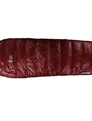 Sleeping Bag Mummy Bag Single 10 Goose Down 1000g 190X50 Camping / Traveling / IndoorWaterproof / Rain-Proof / Windproof /