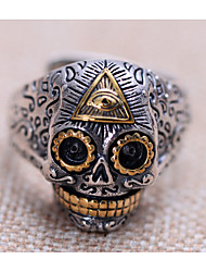 Ringe Alltag / Normal Schmuck versilbert Herren Ring 1 Stück,Eine Größe Silber