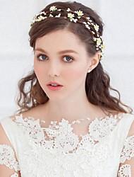 Women's Fabric Headpiece-Wedding / Special Occasion / Casual Tiaras / Headbands / Wreaths / Hair Clip / Hair Tool 1 Piece
