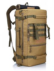 50 L Rucksack / Travel Duffel Camping & Wandern / Klettern Draußen Wasserdicht / tragbar Schwarz / Armeegrün / Tarnfarben Nylon