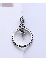 Colliers Tendance Pendentif de collier Bijoux Quotidien Logo Argent sterling Hommes 1pc Cadeau Argent