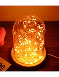 Romantic Wahoo Silver Lanterns Glass Light Star LED Desk Lamp Christmas DecorationNight Light