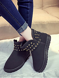 MujerOthers-Botas-Casual-Vellón-Negro / Rosa / Gris