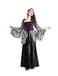 Fête / Célébration Déguisement Halloween Noir A Carreaux Jupe Halloween / Noël / Carnaval Féminin