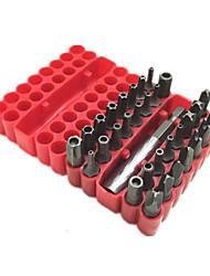 (Trinta e três / um conjunto) de ameixa oca chave de fenda chave de fenda elétrica