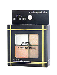 4 Eyeshadow Palette Shimmer Eyeshadow palette Cream Normal Daily Makeup