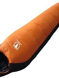 Sleeping Bag Mummy Bag Single 10 Duck Down 1000g 230X100 Camping / Traveling / IndoorWaterproof / Rain-Proof / Windproof /
