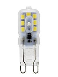 4W G9 LED a pannocchia T 14 SMD 2835 360 lm Bianco caldo / Luce fredda Decorativo V 1 pezzo