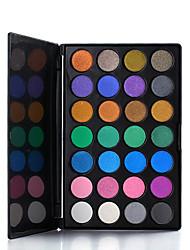 28 Palette de Fard à Paupières Sec Fard à paupières palette Poudre Compact Normal Maquillage Quotidien