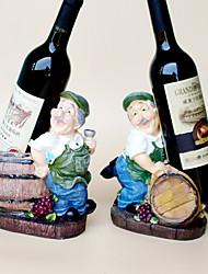 Винные стеллажи Дерево,17*12*22CM Вино Аксессуары