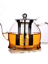 1PC Slap-Up Atmospheric Family Entertainment Glass Tea set Seven-Piece Cup Teapot