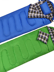 Sleeping Bag Rectangular Bag Single 10 Hollow Cotton DownX30 Hiking Camping Traveling Outdoor IndoorWell-ventilated Waterproof Portable
