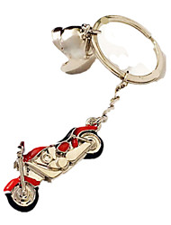 Key Chain Leisure Hobby Key Chain Motorcycle Metal Pink For Boys / For Girls