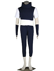 Naruto Anime Cosplay Costumes  Vest/T-shirt/Pants/Belt /Gloves male