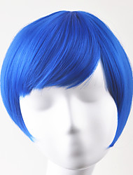 Europe and United States fashion Xie Liu party ballBOBO Blue color lorshort hair high temperature wire wigs